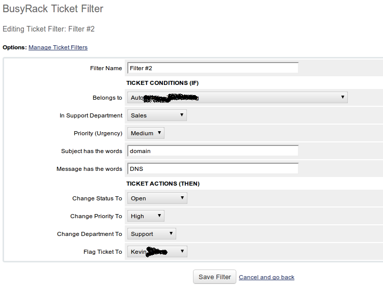 WHMCS Ticket Filter | WHMCS Addons | WHMCS Modules | cPanel Addons